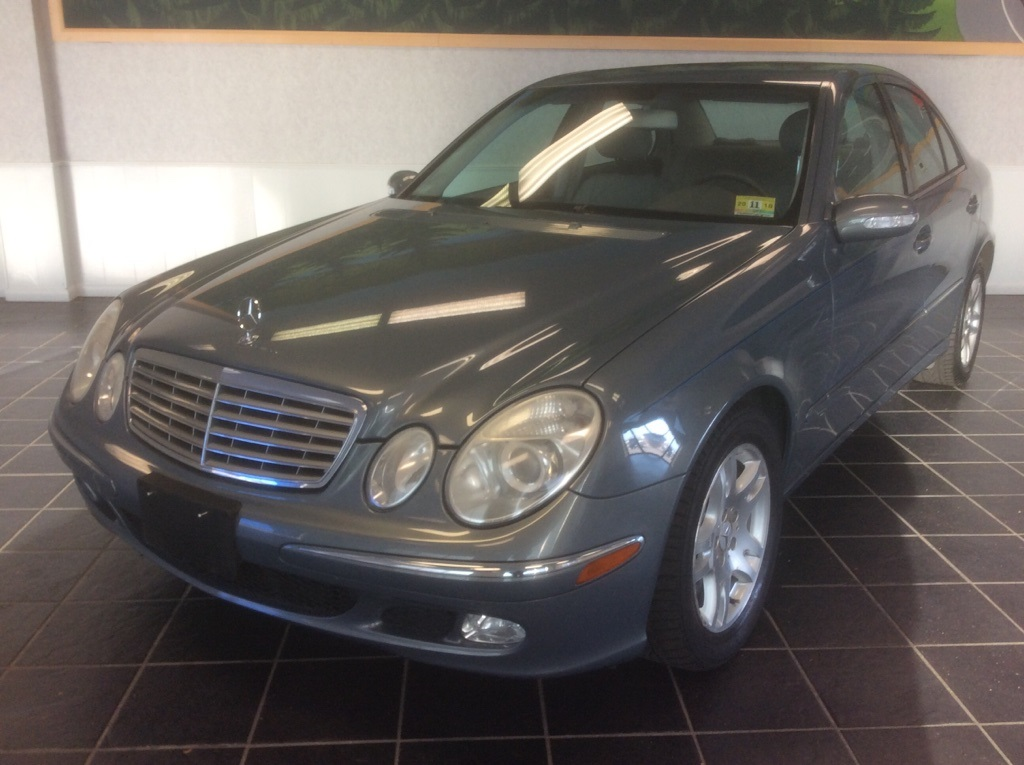 Pre owned 2005 mercedes benz e class e320 4d sedan in fort for Pre owned e class mercedes benz